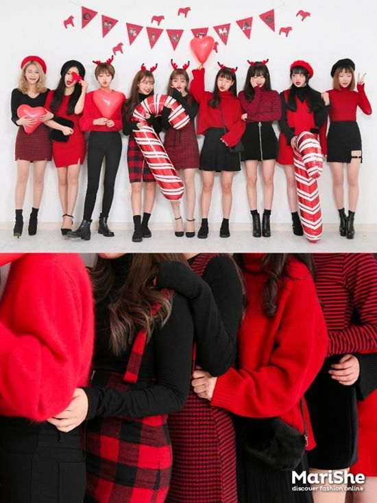 Korean Christmas Fashion
