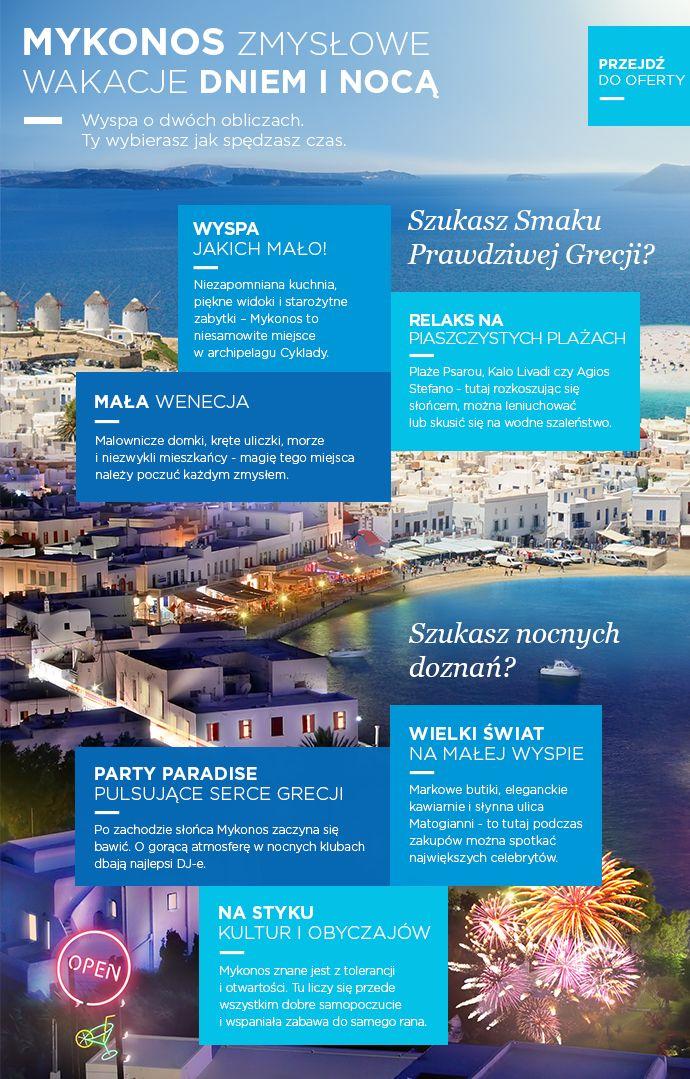 Mykonos - Grecos - Wielkie greckie wakacje! Kefalonia, Lefkada, Chalkidiki…
