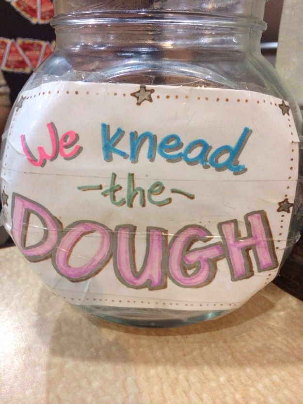 This pizzeria pun. | 27 Tip Jars That Are Too Clever To Resist