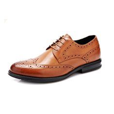 Large Size Men's Modern Brogue Carved Classic Pointed Toe Dress Shoes Online - NewChic Mobile
