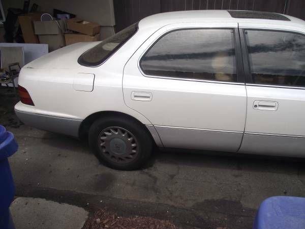 1991 Lexus LS 400 bumper (El Cajon) $100