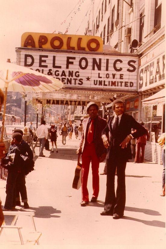 "superseventies: "" The Apollo Theater, New York City, 1970s """