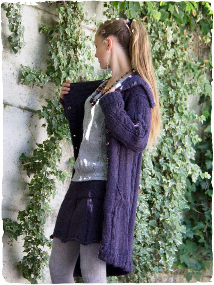 Cappotto in maglia Gina #modaetnica #ethnicalfashion #alpacaswhool #lanadialpaca #peruvianfashion #peru #lamamita #moda #fashion #italianfashion #style #italianstyle #modaitaliana #lamamitafashion #moda2015 #fashion2015