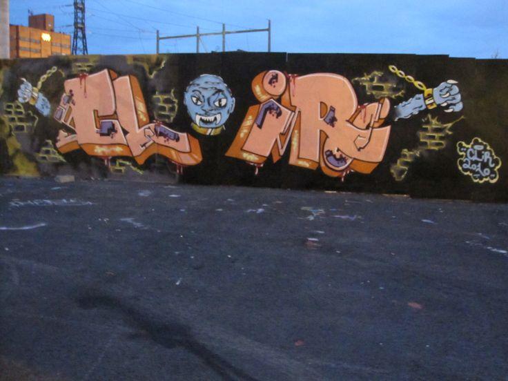 Clir, Helsinki graffiti.