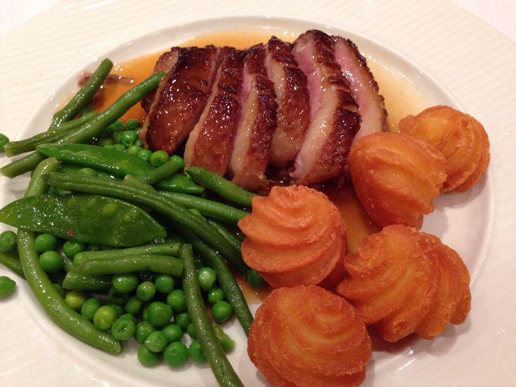 Magret de canard: super frais viande! Très tendre!