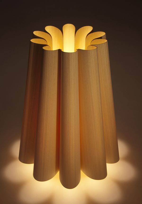 Weplight / Real Wood Table Lamp by WEPLIGHT , via Behance