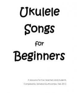 "Ukulele Songs for Beginners. SUPER BASIC, pinning for ""the lion sleeps tonight"" though :)"