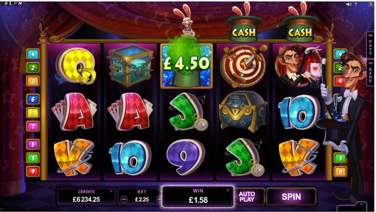 Ever wondered about the world of magic and illusions? Royal Vegas Online Casino affords players the opportunity to explore the world of Abra-Kardabra on Rabbit in the Hat video slot