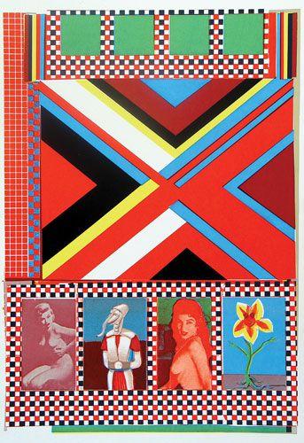 Eduardo Paolozzi - geometric trend