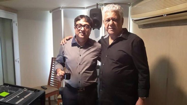 A voice that enthralled generation Working with a legend like Om Puri was an experience that can never be forgotten. #HarmonyMultimedia #RIP #OmPuri #Bollywood #Cinema #Hindifilms #Legendsneverdie
