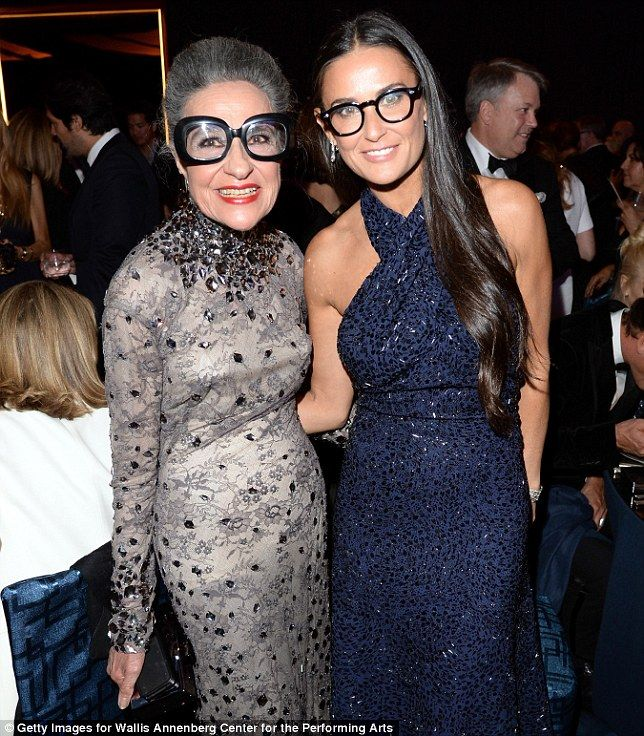 ::Joy Venturini Bianchi & Demi Moore::