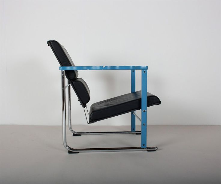 """Experiment"" chair (1982) by Yrjö Kukkapuro Material: wood, leather, metal Manufacturer: Avarte (Helsinki, Finland)"