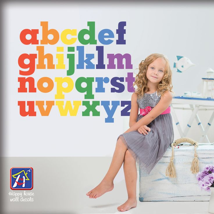 Best  Alphabet Wall Decals Ideas On Pinterest Love Wall - Vinyl wall decals alphabet