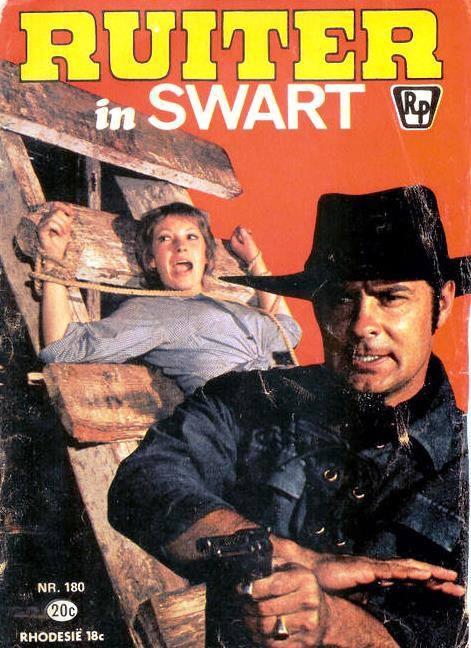 Ruiter in Swart