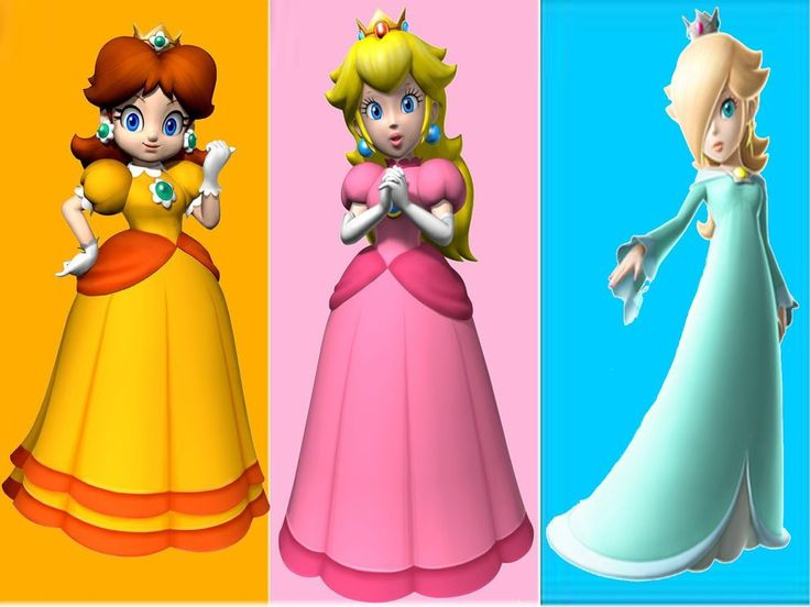 Congratulate, your Princess peach daisy rosalina and zelda very