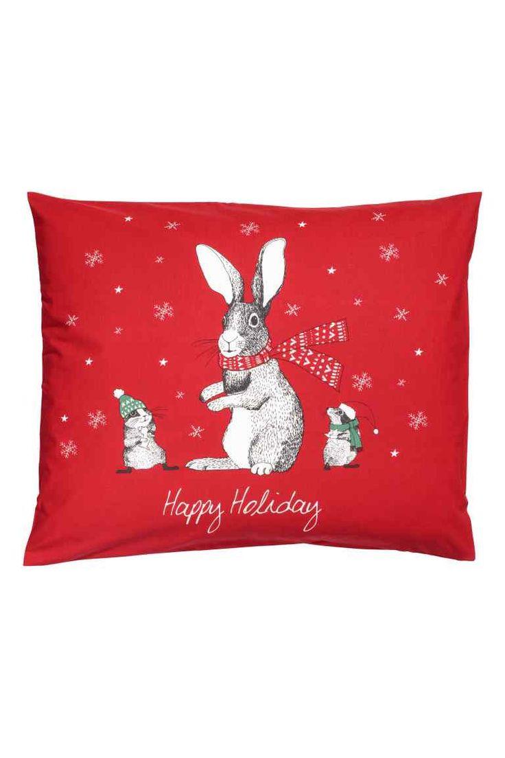 Federa a tema natalizio - Rosso/lepre - HOME   H&M IT