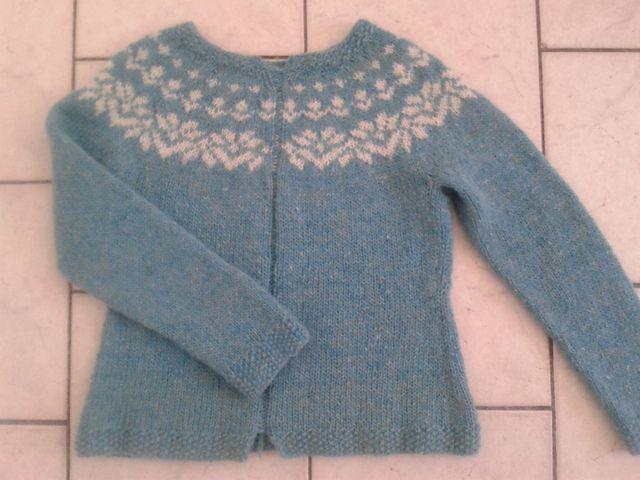Ravelry: Project Gallery for Afmæli - 20-year anniversary sweater pattern by Védís Jónsdóttir-free pattern