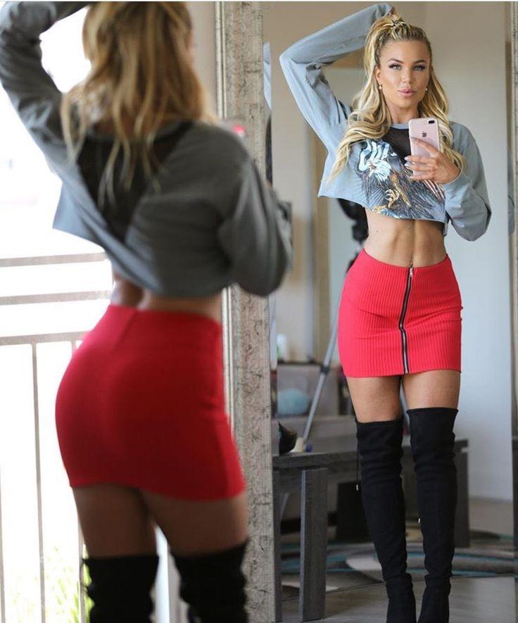 Lauren Drain   Women, Tight dresses, Skirt outfits