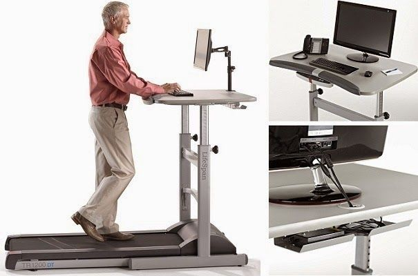 LifeSpan TR1200-DT5 - #1 Top Rated Treadmill Desk