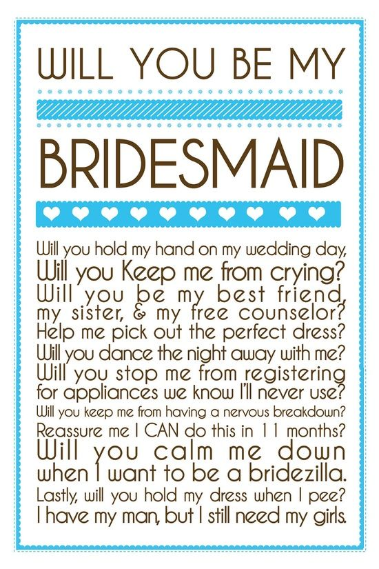Absolutely love this! mail these instead of asking the girls - wish-upon-a-wedding
