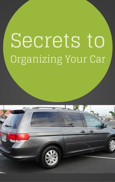 Dr Oz brought in a woman who became a viral sensation after her minivan organization was shared online. She gave her best advice for getting rid of clutter and turning even the messiest car, into an organized vehicle.