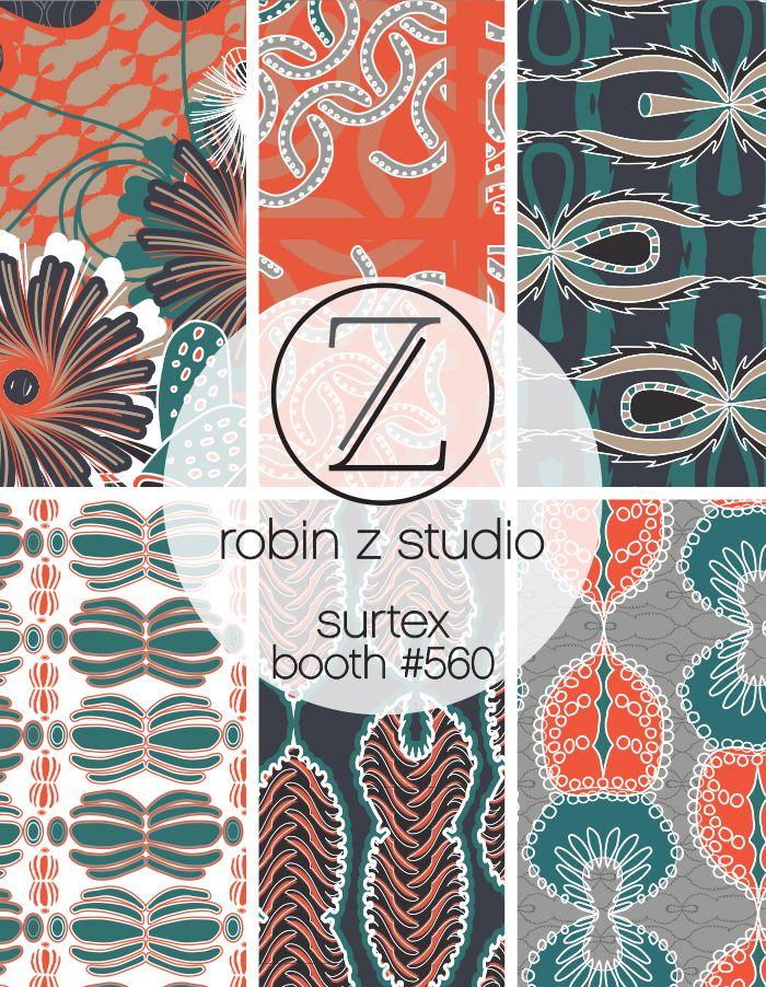 Visit Robin Z Studio at Surtex, May 17-19 #560