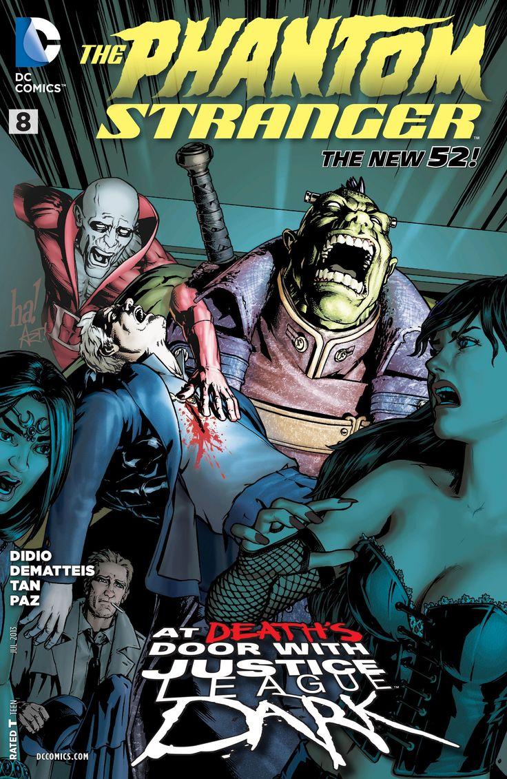 Trinity Of Sin: The Phantom Stranger #8