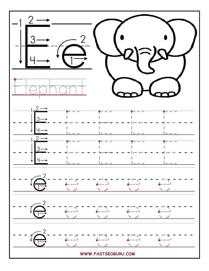 27 best a z images on pinterest writing preschool alphabet and printable letter e tracing worksheets for preschool spiritdancerdesigns Images