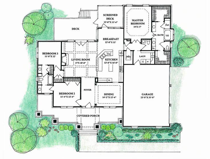 7 besten grundrisse bilder auf pinterest grundrisse for Stephen davis home designs