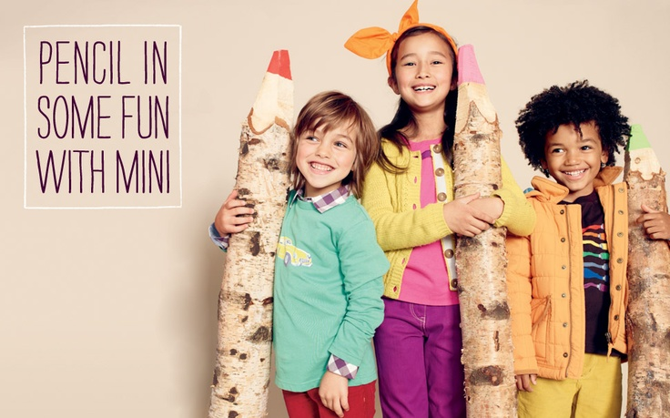 those giant colored pencils  Mini Boden Clothing | Boden US - Childrens Clothes