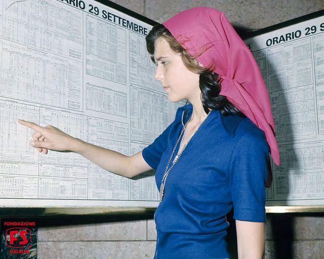 quadri orario di stazione consultabili al pubblico (1963)