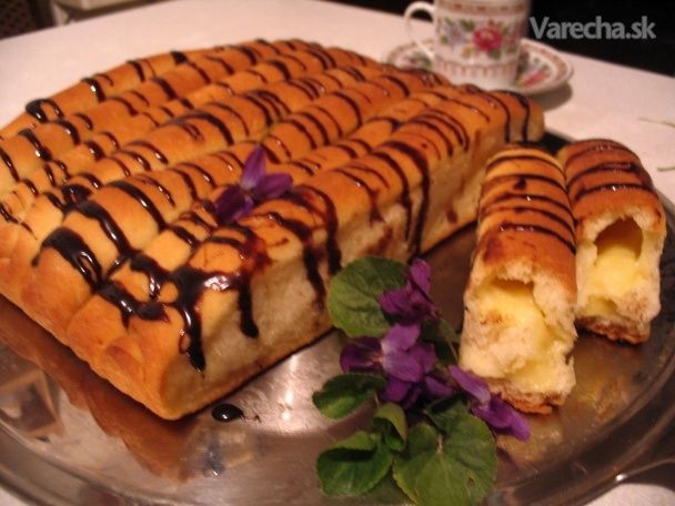 Kysnuté vanilkové roládky (fotorecept)