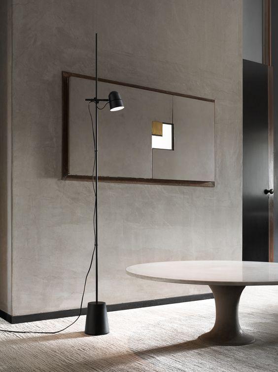 Luceplan vloerlamp D73t Counterbalance Floor door Daniel Rybakken   Designlinq