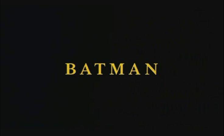 BATMAN - Tim Burton (1989)