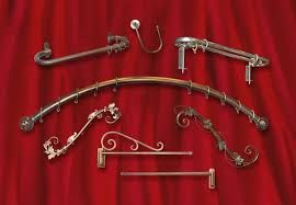 curtain rod for arched window - Google Search