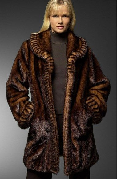 11 best Faux fur coats images on Pinterest | Dennis basso, Faux ...