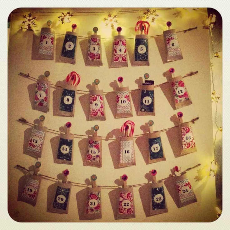 Toilet roll advent calendar **WARNING** you cannot access the page this is pinned from :'(