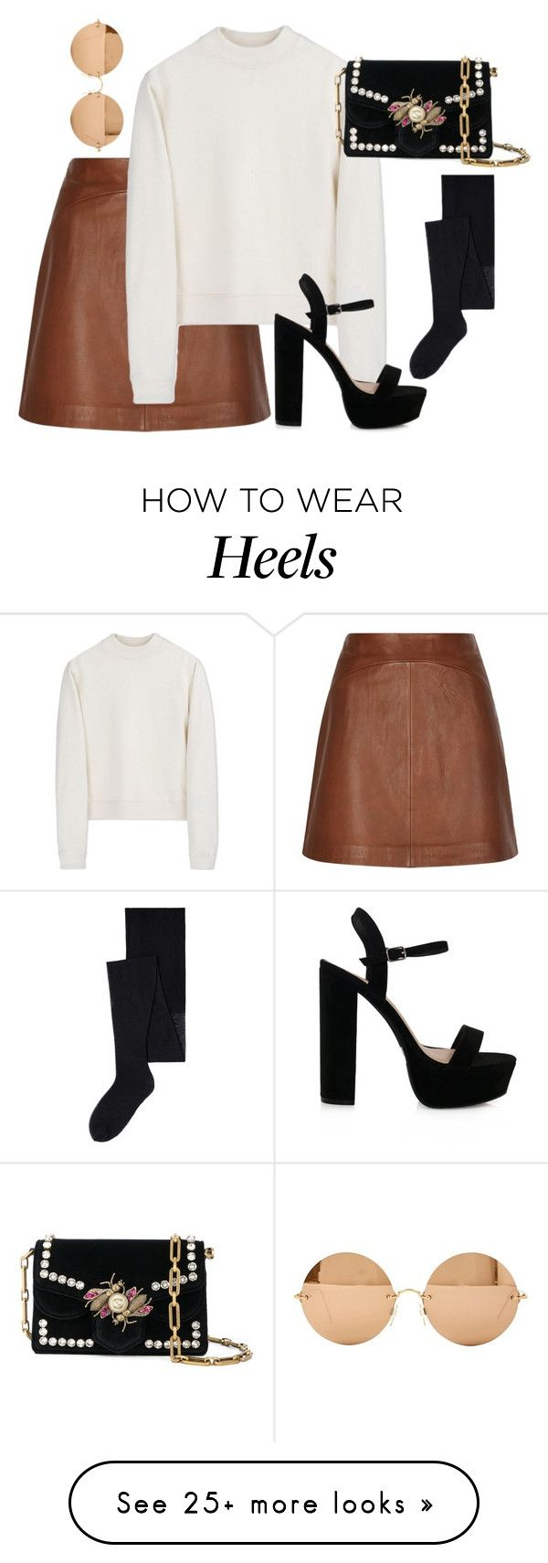 """Untitled #4485"" by magsmccray on Polyvore featuring Reiss, Acne Studios, MANGO, Proenza Schouler and Victoria Beckham"