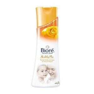 Biore Shower Cream Healthy Plus with Honey, Vitamin E & Anti-bacteria Agent Made in Thailand by Biore. $20.51. Brand: Biore Type: Shower Cream Variant: Healthy Plus with Honey & Vitamin E Product features: Biore Shower Cream Health Plus protect your family from bacteria, dirt & germs to keep them healthy using shower cream with enriched with Honey, Vitamin E and Anti-Bacteria agent, it protects you and your family from dirt and germs. Using Biore's proprietary ...