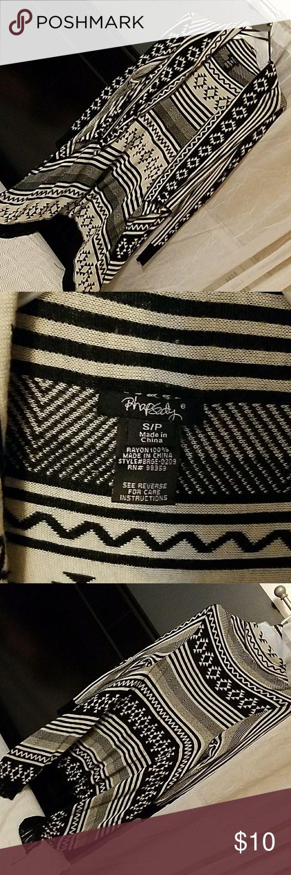 Tribal print cardigan Flowy, lightweight, tribal print cardigan. Rhapsody Sweaters Cardigans