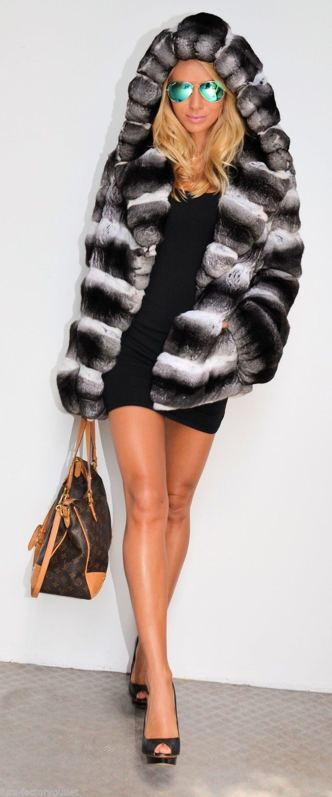 Chinchilla FUR Jacket Stola WIE Sable Zobel Nerzmantel Zobelmantel | eBay