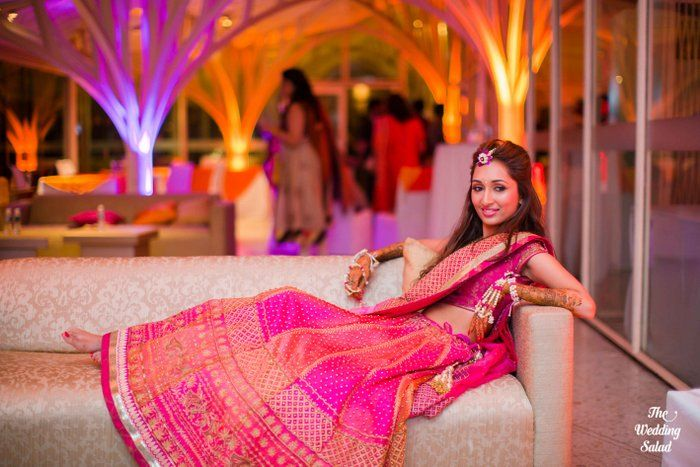A Mumbai wedding with a glistening gold bride: Koell and Pavan