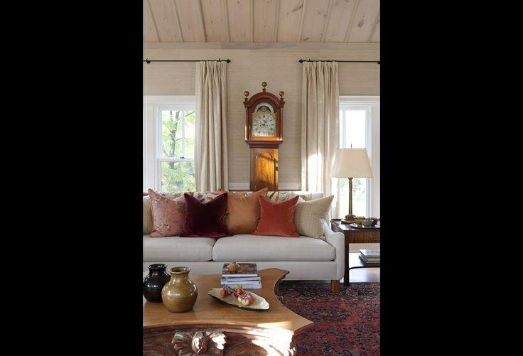 Sarah richardson farmhouse living room living room - Sarah richardson living room ideas ...