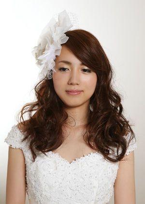 シンプルが一番♡ウェディングドレスの髪型はダウンがいい♡ダウンスタイルの前撮り髪型参考一覧♡