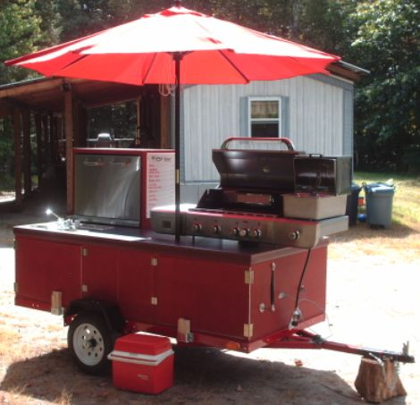 homemade hot dog cart plans | ... can be done with the E-Z Built Hot Dog Cart Plans and Video package