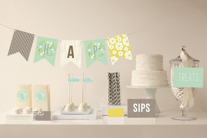 minted party making packages - Wooded Blooms Party Decor