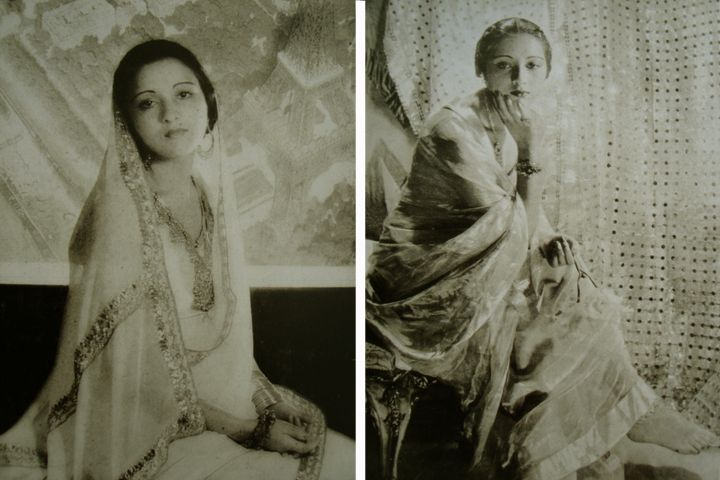 """Rani Sita Devi of Kapurthala (1915-2002) was widely regarded as one of the most glamorous women of her day. A muse for several top photographers, at age 19 she was anointed by Vogue Magazine as the latest """"secular goddess."""" Three years later Look named her one of the five best dressed women on earth."""
