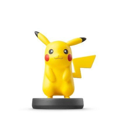 Nintendo Pikachu amiibo Figure, Yellow