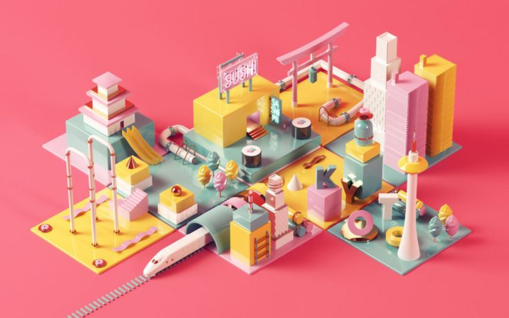 Digital Artworks by Núria Madrid