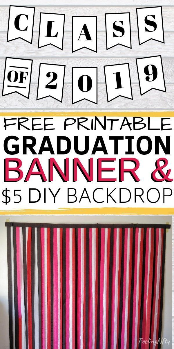 How To Make A Streamer Backdrop For A Photobooth Feeling Nifty Graduation Party Backdrops Graduation Backdrop Graduation Banners Diy